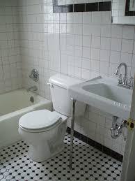 Black And White Checkered Tile Bathroom Amazing Black And White Tile Bathroom And Best 25 Black And White