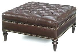 black leather square ottoman huge leather ottoman leather square ottoman coffee table for idea