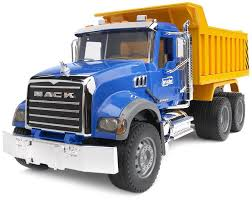 bruder toys mack granite dump truck 02815 kids play new same day