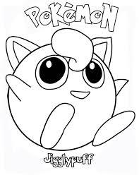 pokemon jigglypuff laughing coloring download u0026 print