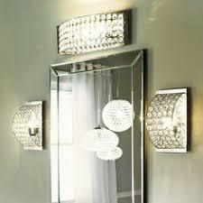 Kichler Vanity Lights Shop Kichler Lighting 4 Light Krystal Ice Chrome Crystal Bathroom