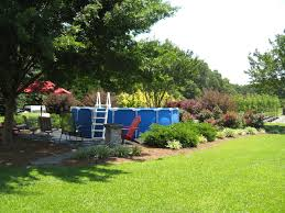 Backyard Above Ground Pool Ideas Above Ground Pool Landscaping Ideas Has Above Pool