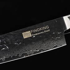 wood handle kitchen knives findking zebra wood handle 7 inch santoku chef knife 64 layer u2013 jegger