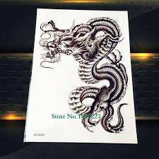 online buy wholesale 3d dragon tattoos from china 3d dragon