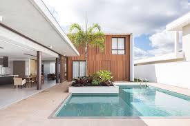 yi design a simple spacious contemporary home in brasilia brazil