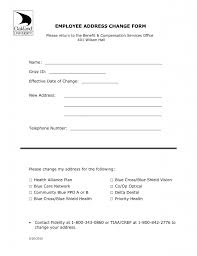 change of residential address letter format gallery letter