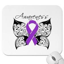 butterfly awareness alzheimers disease mousepad tattoomagz