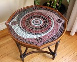 tile table top design ideas mosaic tile table mosaic table for attractive centre of attention