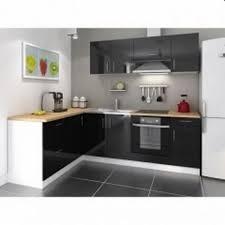cuisine moin cher cuisine complete cosy laqué noir 280 cm acheter moins cher