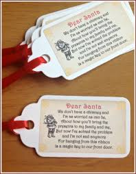 santa key christmas santa s magic key tags labels vintage style