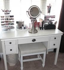 Lighted Makeup Vanity Mirror White Vanity Table With Lighted Mirror Home Design Ideas 1 Cheap