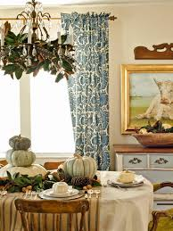 Fall Table Settings by Photos Hgtv Rustic Fall Table Setting With Decorated Chandelier