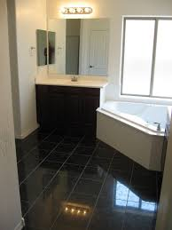 elegant granite bathroom floor tiles for your home remodeling