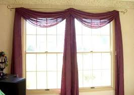 Valance Curtains For Bedroom Best 25 Scarf Valance Ideas On Pinterest Window Scarf Curtain