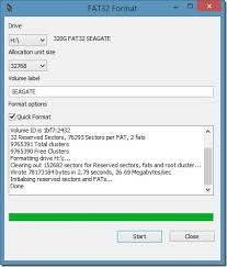 format hard disk tool how to format external hard drive in fat32