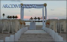 wedding arches rental miami miami chuppah rental wedding canopy arch rental ft lauderdale