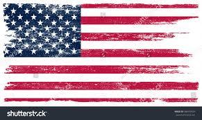 Usa Flag Vector Grunge Usa Flag American Flag Grunge Stock Vector 388455523