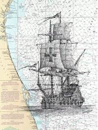 Florida Shipwrecks Map Packard Nautical Art Gallery
