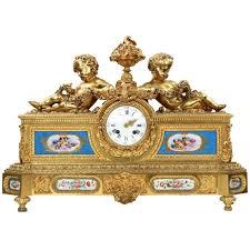 Antique Mantel Clocks Value Exceptional French Gilt Bronze Mantel Clock Henri Picard Circa