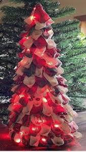 burlap tree battery powered forever led lights