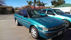 toyota corolla hatchback 1991 1991 toyota corolla hatchback cars vans utes gumtree