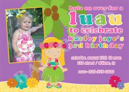 luau birthday party invitations cimvitation