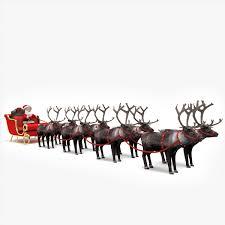 santa claus 3d models for download turbosquid