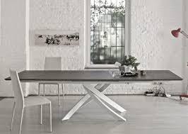 tavoli da sala da pranzo moderni allungabile tavolo soggiorno