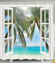 Vintage Nautical Shower Curtain Bathroom Fabulous 96 Inch Shower Curtain Vintage Beach Shower