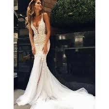 trumpet wedding dresses applique wedding dresses white mermaid trumpet wedding dresses