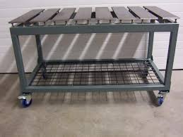 diy welding table plans this could be the ultimate welding table page 6 the garage