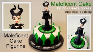 halloween maleficent cake how to by pink cake princess youtube