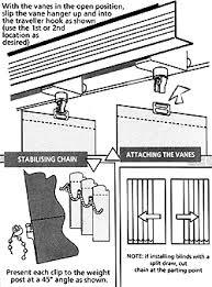 Vertical Blind Head Rail How To Fit Vertical Blinds Wooden Blinds Venetian Blinds