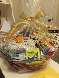 gift basket ideas for raffle office supply gift basket creativity gift basket