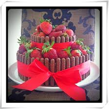 strawberry and chocolate cake emma colling recipes for food