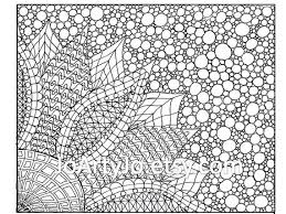 printable coloring pages adults coloring page zentangle inspired flower printable page 2