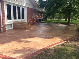 Photos Of Stamped Concrete Patios by Concrete Services Stamped Concrete Concrete Repair