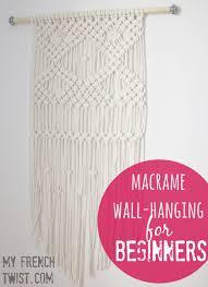 Macrame Hammock Chair Macrame 3 Pot Planter Tutorial My French Twist