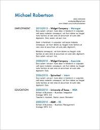 sample of a resume template high resume example resume
