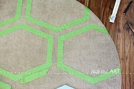 Green Ikea Rug Ikea Ringum Rug Receives Fabulous Frogtape Pattern
