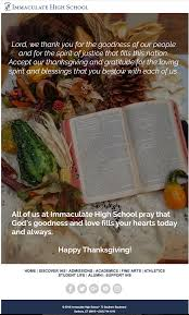 the happy thanksgiving email all schools need to send