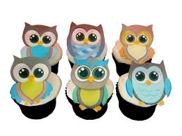 owl cake toppers owl cake toppers and cupcake decorations birthday cake and baby