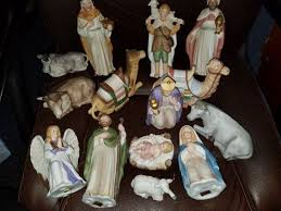 home interiors nativity vintage homco home interiors nativity set 15 pc nativity sets