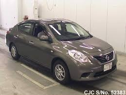 2013 nissan tiida latio brown for sale stock no 52383