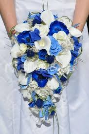 Blue Wedding Bouquets 163 Best Blue Wedding Flowers And Inspiration Images On Pinterest