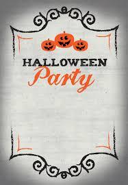 halloween party free printable halloween invitation template