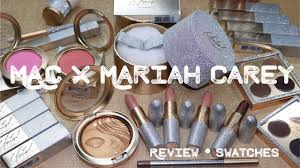 mac x mariah carey collection review swatches kelseebrianajai