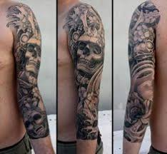 sleeve tattoo designs for men photo gallery of the cool full