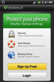 lookout android lookout security and antivirus to tighten android phone security