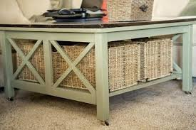 coffee table with baskets under coffee table with storage baskets under coffee table storage baskets